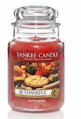 Be thankful candle