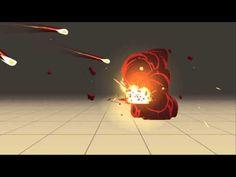 VFX Test - Cartoony Explosion 2nd Pass - YouTube