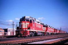 RailPictures.Net Photo: CB&Q 950 Chicago Burlington & Quincy Railroad EMD GP30 at Cicero, Illinois by Chuck Schwesinger