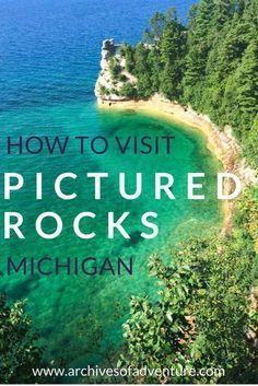 Pictured Rocks   Pictured Rocks National Lakeshore   Michigan Travel   Pictured Rocks Michigan   Upper Peninsula Michigan   Munising Michigan   Grand Marais Michigan   Michigan waterfalls  