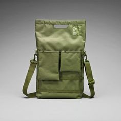 """Unit 01/02/03 Laptop Bag 13"""" Grn, 69€, now featured on Fab."""