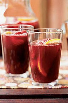Mulled Sangria -  Holy hand grenades of love Batman! Be careful with this stuff, you don't want to spill it on the floor and have your dog lick it up. | http://www.snooth.com | #wine