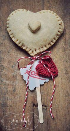 {valentine's pie hearts}