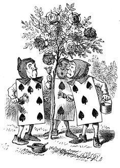 alice in wonderland illustrations -John Tenniel