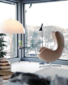 On instagram by interiordailyinspo #homedesign #contratahotel (o) http://ift.tt/1Jvt7FA'd love to spend my Saturday here  via: Pinterest.com | #instagood #interior #interiors #interiør #interiordesign #interior123 #homedecor  #eggchair #arnejacobsen #windows #nordiskehjem #nordicdesign #nordicinterior #scandinavian #scandinaviandesign #minimalism #interiordaily #interiordailyinspo