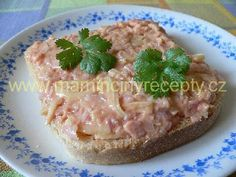Kečupová pomazánka Bon Appetit, Pesto, Ham, Oatmeal, Appetizers, Breakfast, Food, The Oatmeal, Morning Coffee