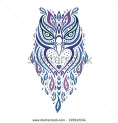 owl tattoos small tribal - Google Search
