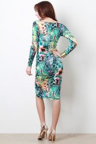 Central Painting Dress