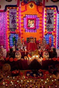 mon-mexique:  Dia de Muertos