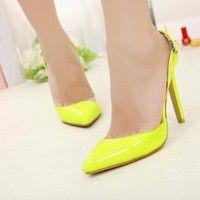 Wish | Fashion New Women Stiletto Heels Buckle Slingbacks Sandals Pointed Toe Shoes