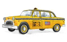 New York Taxi - Alice Tait