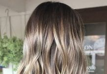 Trendy Hair Color Ideas 2017/ 2018 : natural looking blonde highlights…