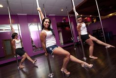 Outing to a pole dancing class!