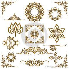 thai-ethnic-decorative-elements-vector-element-ornament-illustration-66901987.jpg (400×400)