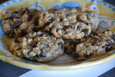 Oatmeal Chocolate Chip Cookies {with Coconut Oil}