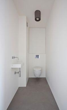 Betonboden, Gäste Wc, Bäder Ideen, Gast, Badezimmer, Architektur, Wohnen,  Bad Inspiration, Toiletten
