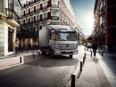The new Mercedes-Benz Atego Euro VI: The new benchmark in short-radius distribution