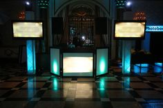 Corporate DJ Booth & LED Photo Booth