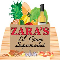 Zara's Lil' Giant Supermarket's gift certificates in any denomination + fine wines and cheese that can be made into gift baskets (4838 Prytania St.)