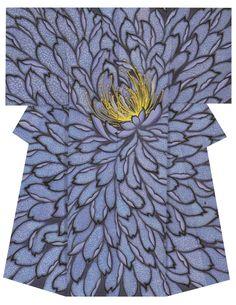 Kimono by Akira Takizawa, the 36th Japan Textile Exhibition