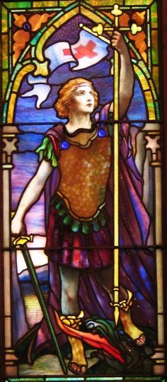 An impressive array of Tiffany stained glass and other religious art elements is showing at the Museum of Biblical Art in New York. To see it, you need to fly to the Big Apple before Jan. 20.