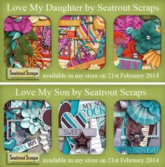 Two Sneak Peeks & Blog Competition by Seatrout Scraps! And this weeks Blog Competition is going to be different. You can win one of these beautiful Kits by leaving a comment on her Blog Post! Blog Post; http://www.seatroutscraps.com/sneak-peek-blog-competition-3/. 19/02/2014