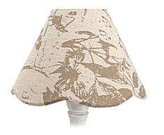 Pantalla de Lámpara de algodón Mariposas