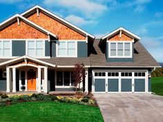 Not sure which garage door goes best with your home's style? Browse our look book for inspiration.