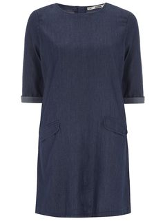 Indigo Denim Tunic