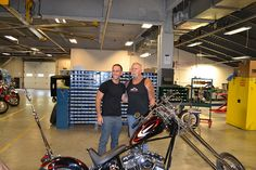 American Jewelry and Loan - Hardcore Pawn visit OCC! We had a great afternoon meeting and showing the crew from American Jewelry and Loan - Hardcore Pawn around the complex. Then a great meal in the OCC Cafe. Thanks for stopping by! Les Gold, Orange County Choppers, Big Time, American Jewelry, Jr, Meal, Thankful, Abstract, Design
