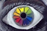 Color wheel eye
