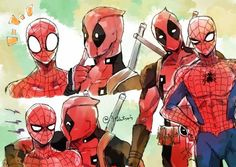 Read 118 from the story Comic's Stony 💕 by with reads. Spideypool Comic, Deadpool Y Spiderman, Nerd Cave, Alice Angel, Man Thing Marvel, Marvel Fan, American Comics, Marvel Universe, Loki