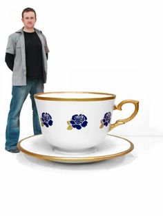 tea cups giant - Google Search