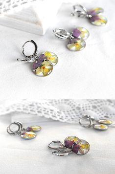 Valentines+gift+for+her+Drop+earrings+for+her+by+KvitkaSonze