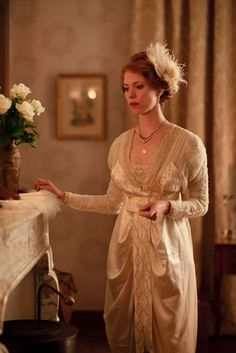 Rebecca Hall as Sylvia Tietjens in Parade's End (TV Mini-Series, 2012).