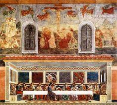 Andrea Del Castagno - Ultima Cena, Resurrezione, Crocefissione e Deposizione nel sepolcro (1447)