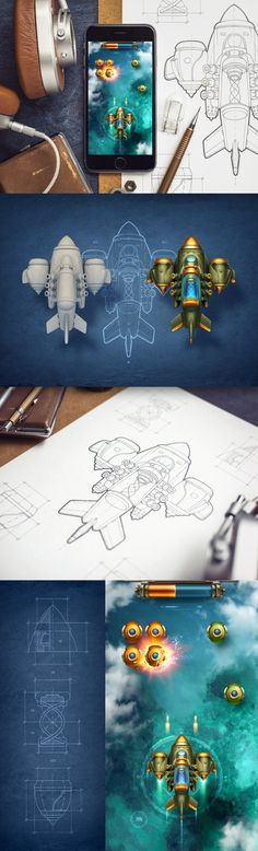 Dribbble - iphone_game_full_size.jpg by Mike | Creative Mints