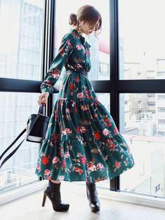 One piece dress Looks- Akane?One piece dress Looks - : Akane?One piece dress Looks- Akane?One piece dress Looks - Modest Fashion, Hijab Fashion, Korean Fashion, Girl Fashion, Fashion Dresses, Womens Fashion, Fashion Tips, Fashion Hacks, Fashion Websites
