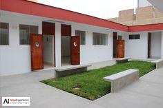 Baños ULADECH Católica Garage Doors, Outdoor Decor, Home Decor, Decoration Home, Room Decor, Interior Design, Home Interiors, Interior Decorating