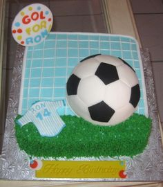 Football Pitch Cake Ideas