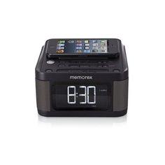 Alarm Clock Charging Station FM Radio USB Ports Sleep Snooze Home Travel Office #Memorex