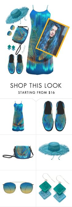 """""""Under $100 Summer Dress from Annabellerockz"""" by ragnh-mjos ❤ liked on Polyvore featuring Illesteva and Encanto"""