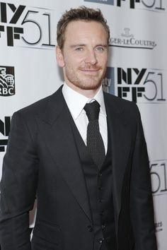 Michael Fassbender at the New York Film Festival // Grooming by Anna Bernabe