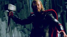 """I saw """"Thor"""" again last weekend to get ready for """"the Avengers."""" I liked it a lot more the second time through. I really liked the effects and realized that I think Chris Hemsworth is pretty darn good as Thor. Screen Junkies, Avengers Images, Thor 2, More Images, My Favorite Image, Chris Hemsworth, New Wave, Thunder, Marvel Dc"""