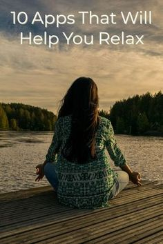 It might seem counterintuitive, but devices that drive you crazy can also help you get centered. #apps #meditation #relax