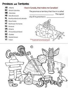 Complete overview of Canada. Includes information on Canadian history, aboriginals (Inuit and First Nations peoples), ecozones, native animals, provinces and territories, and Canadian culture. Also has a list of vocabulary words. %0A%0A---EDIT: Uploaded a newer version with spelling errors corrected.