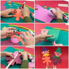 The colors of the autumn are stunning. Watch our latest tutorial and learn how to create funny puppets that perfectly match this beautiful season. Diy Craft Projects, Diy Crafts, Puppets, Seasons, Autumn, Learning, Watch, Create, Colors
