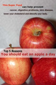 5 Reasons why you should really eat an apple a day