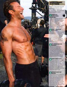 Bradley and Brad Bradley Cooper Shirtless, Brad Cooper, Bae, Hommes Sexy, Hot Actors, People Magazine, Star Wars, Madame, Gorgeous Men
