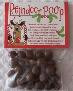 Reindeer Poop - Simple and Cute Christmas Gifts